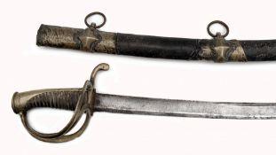 Kavalleriesäbel, ähnlich dem französischen Säbel M. AN IX