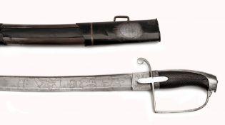 Englischer Säbel für Offiziere der leichten Kavallerie, John Prosser