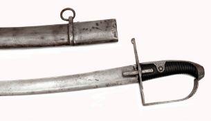 Husarensäbel M 1768 mit Scheide für Mannschaften