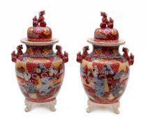 Paar Satsuma-Koro Vasen