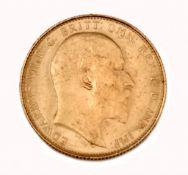 Gold Sovereign König Edward VII. - 1908 Perth