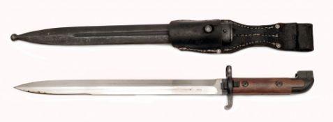 Bajonett Modell 1914 für schwedischen Karabiner Mauser Modell 94-14