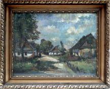 Dorflandschaft, Frantisek Emler