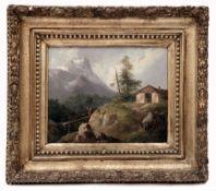 Alpenlandschaft von Josef Navrátil