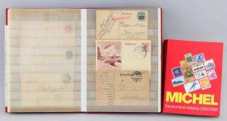 Briefmarken-Album Deutsches Reich
