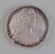 Silbermünze Maria Theresia Theresien-Taler