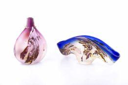 Jardinière and vase