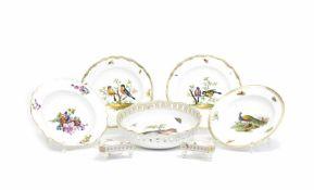 Set of porcelain objects
