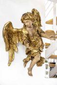 Winged baroque angel (18th century)