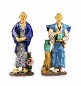 Pair of samurai