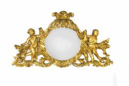 Supraporte with mirror