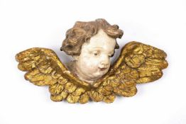 Winged Putto Head (18th Century)