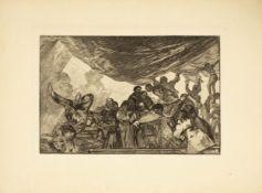 Francisco José de Goya Lucientes (1746 Fuendetodos - 1828 Bordeaux)Disparato Claro (