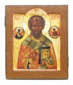 Ikone 'Der heilige Nikolaus'