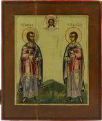 Ikone 'Kosmos und Damian'
