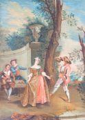 Jean-Antoine Watteau (1684 Valenciennes - 1721 Nogent-sur-Marne) (Umkreis)