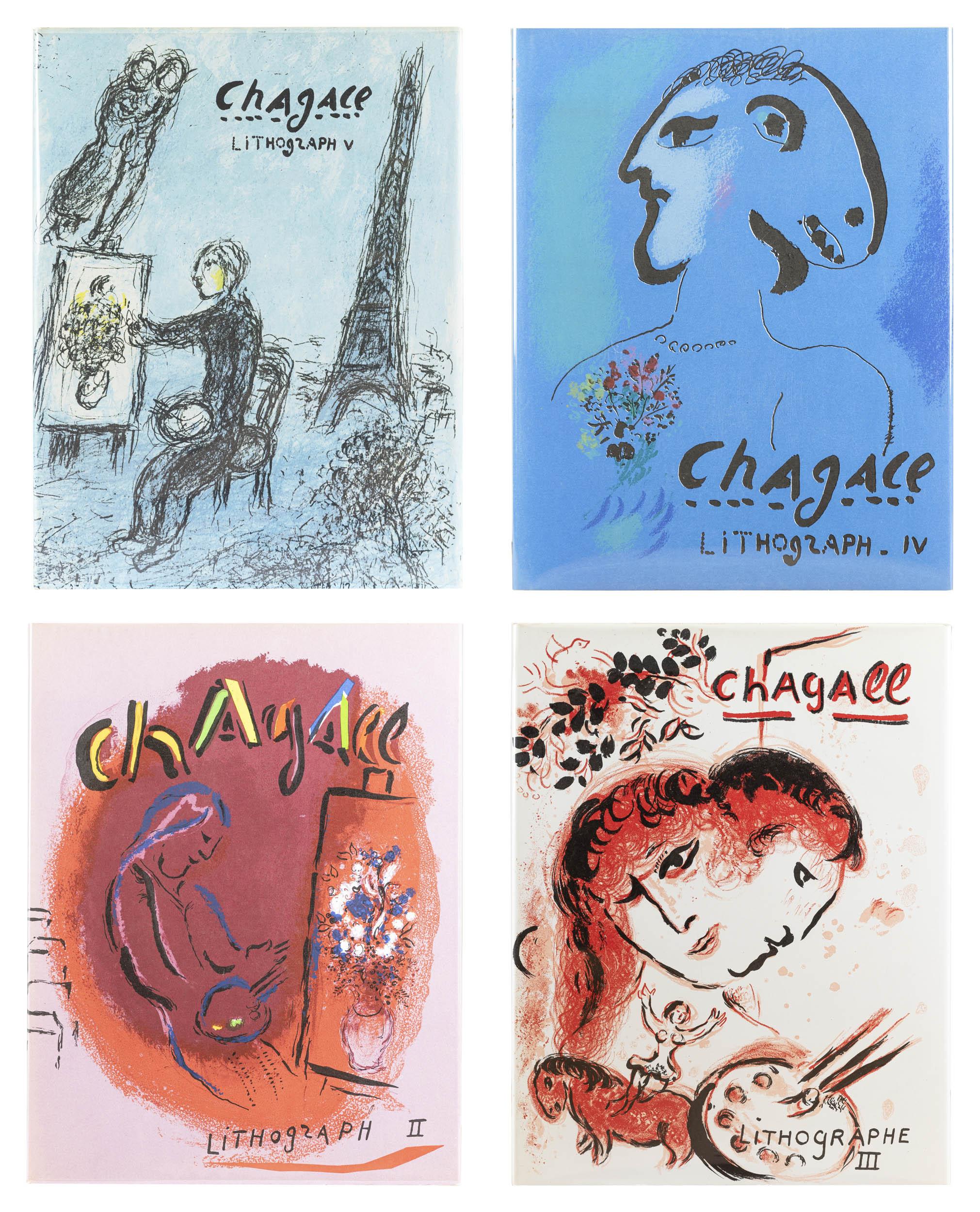 Marc Chagall 'Lithograph II-V'