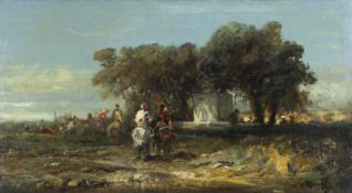 Christian Adolf Schreyer (1828 Frankfurt/Main - 1899 Kronberg)