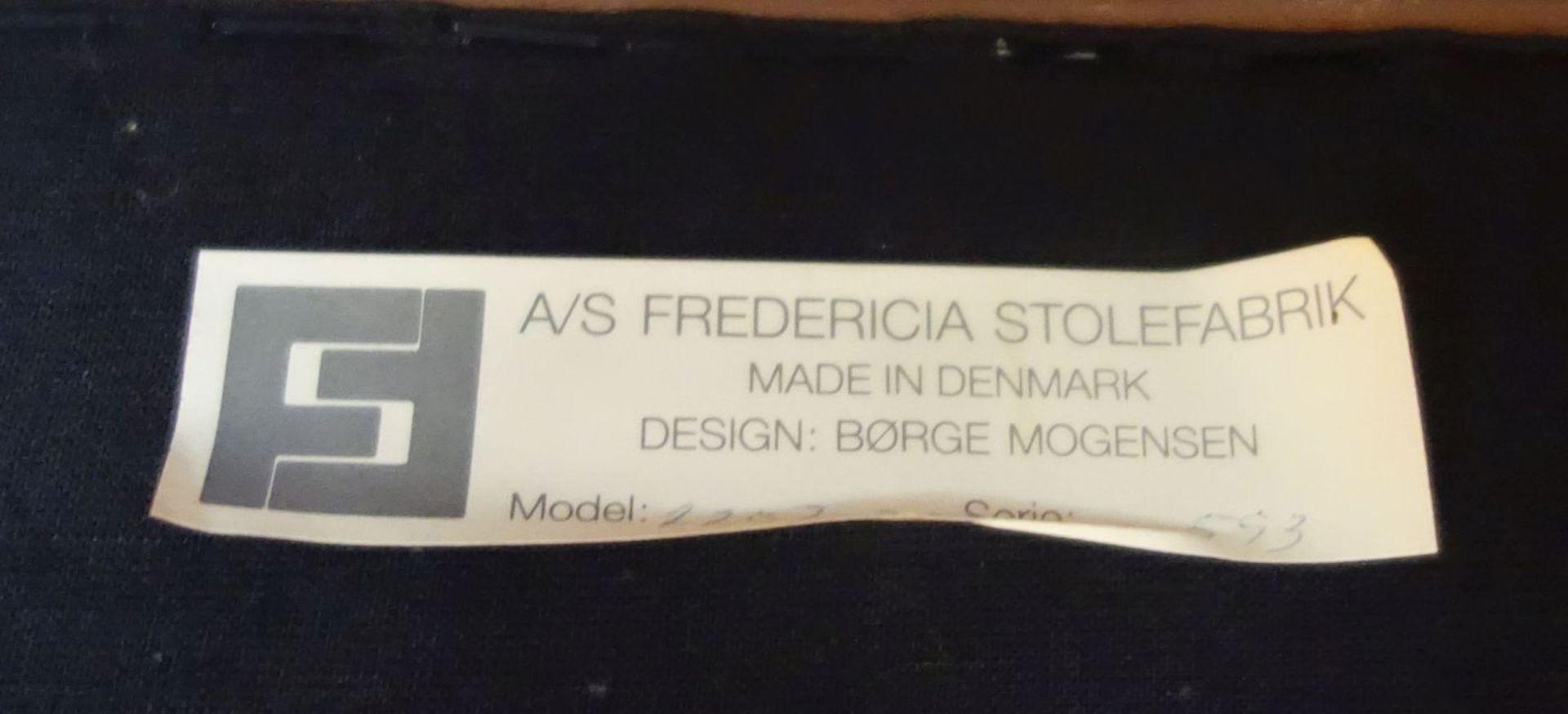 Los 40 - BORGE (Børge) MORGENSEN - SOFA UND 2 SESSEL, Entwurf 1963, Ausführung: Fredericia Stolefabrik /...