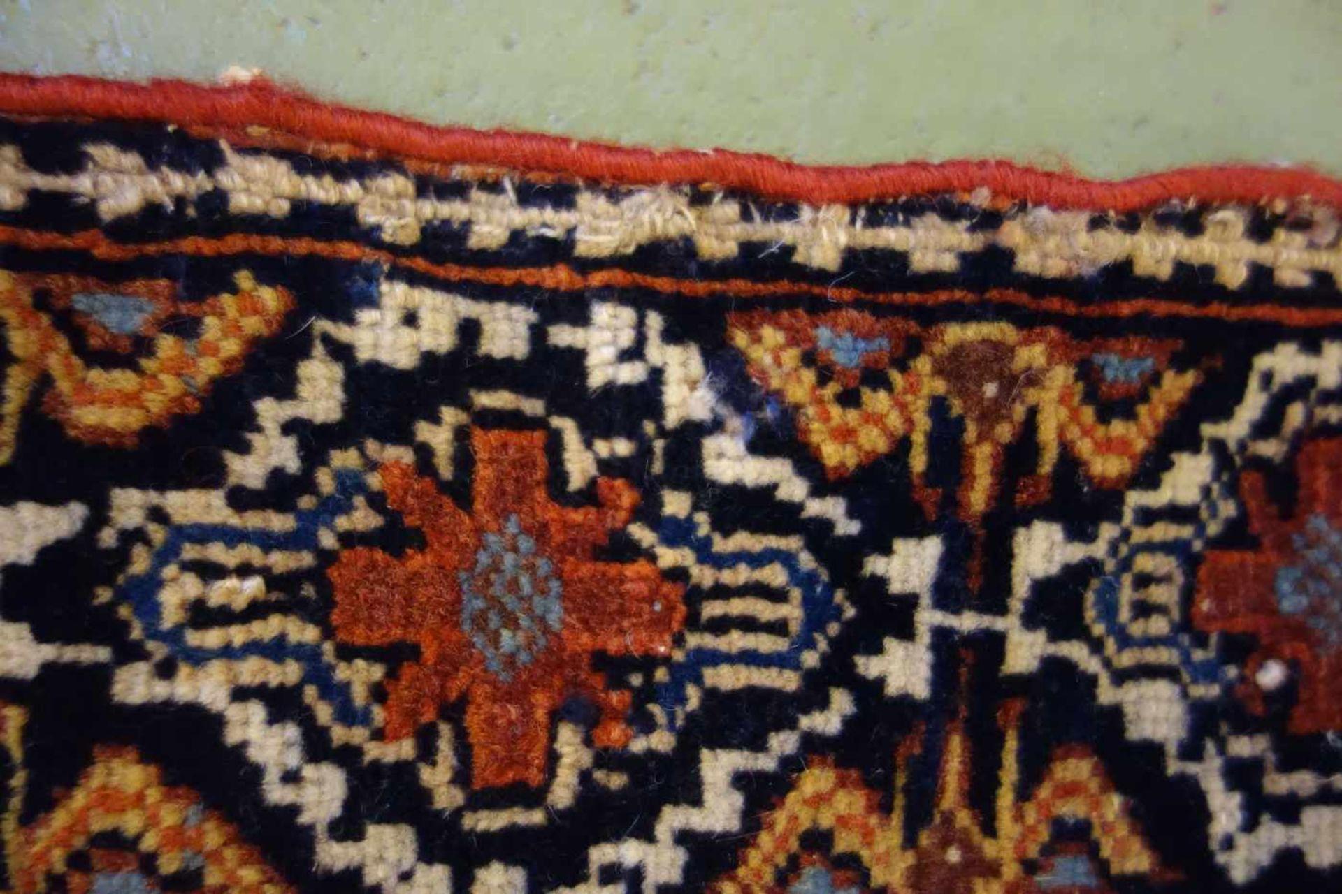 Los 34 - ERSARI BESCHIR SCHMUCKBEHANG / WANDBEHANG / NOMADEN-TEPPICH, Turkmenien, wohl 2. H. 19. Jh. / um...