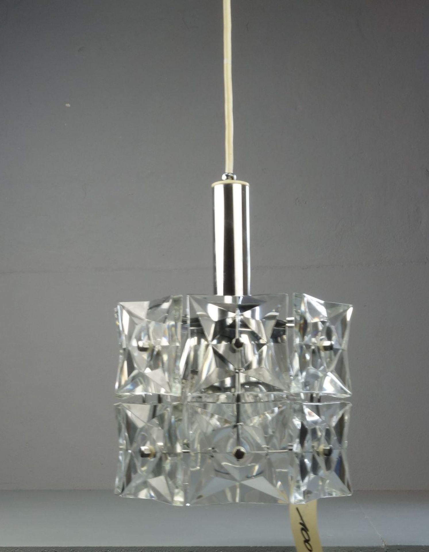 Los 100 - LAMPE / DECKENLAMPE / lamp, mid century design, Manufaktur Kinkeldey / Österreich, 1960er /...