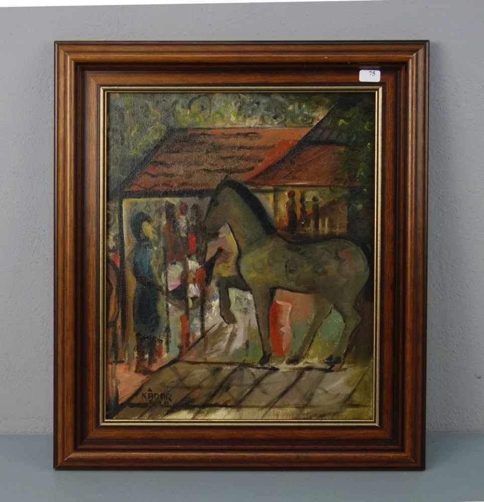 KADAR, BELA (Béla Kádár, Budapest 1877- 1956 ebd.), Gemälde / painting: