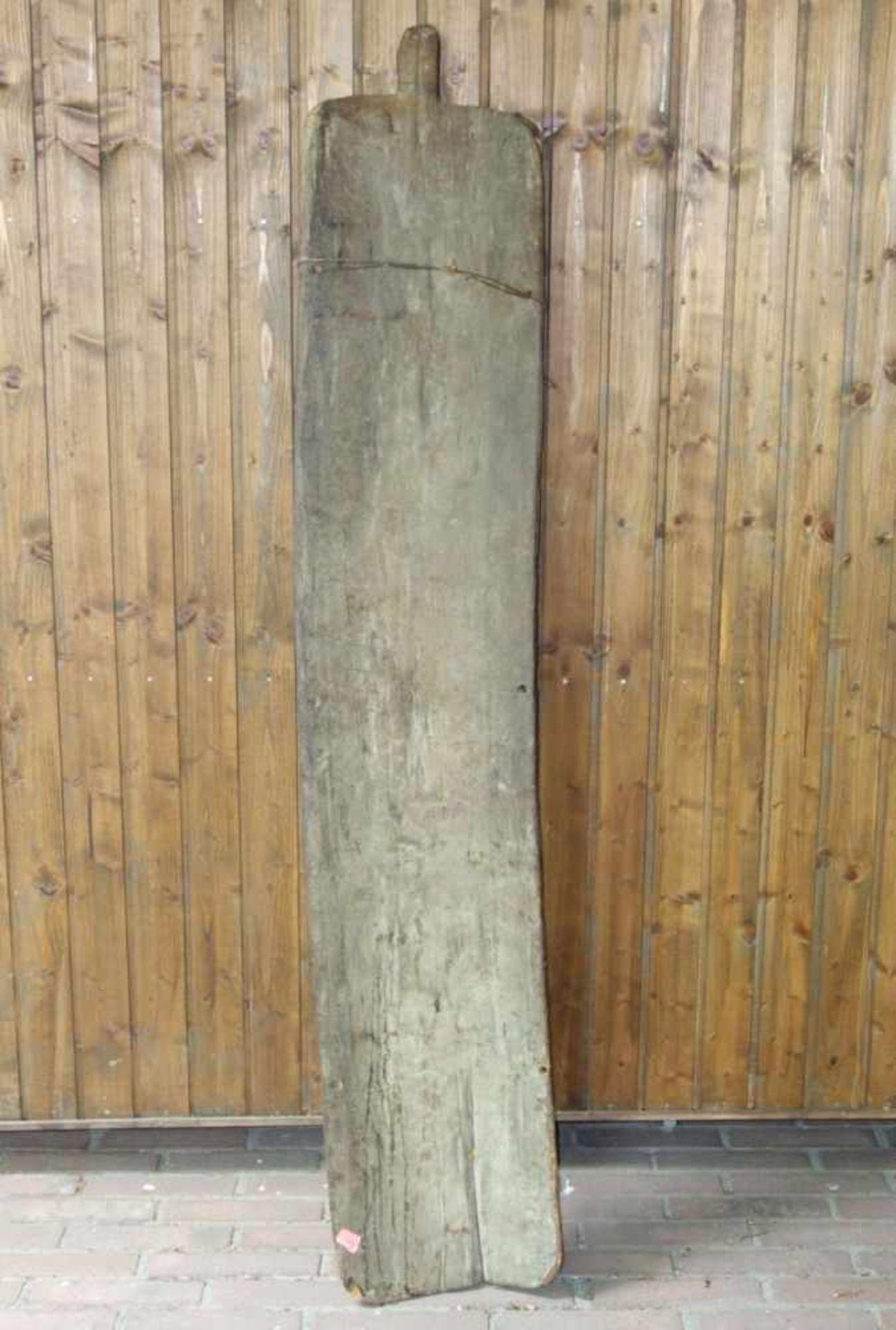 Los 116 - TANZSCHILD DER YATMÜL, Papua Neuguinea, Holz, geschnitzt und farbig gefasst, wohl 1. Hälfte des
