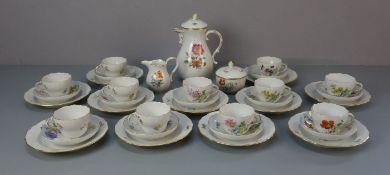 MEISSEN KAFFEE - ODER TEE - SERVICE / coffee or tea set, Porzellan, Manufaktur Meissen,