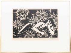 FRANS MASEREEL, Fleurs, Radierung, Frankreich 1951