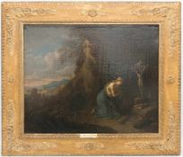 PIETER VAN BLOEMEN, Die büßende Maria Magdalena, Antwerpen 17./ 18. Jh<b