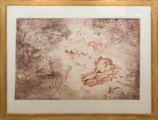 Jiri Anderle, Abstrakte Komposition, Radierung, 20. Jh.