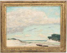 Hans Völcker, Dünenlandschaft, Deutschland 19./20. Jh.Hans Völcker (1865 - 1944).Rückseitig auf