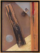 Reinhard Normann, Untitled, Collage auf Holz, Deutschland 20. Jh.Das zeitgenössische Werk des
