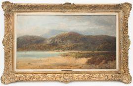 Charles E. Shaw, Küstenlandschaft, Öl auf Leinwand, England 19. / 20. Jh.