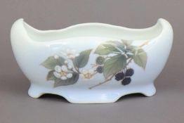 ROYAL COPENHAGEN Jardiniereum 1900-1923, Modell-Nr. 288/493, oval-passige Form, schau- und
