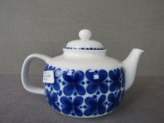 Teekanne Rörstrand Mon Amie 60er Jahre