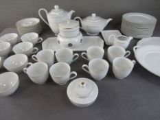 Umfangreiches Kaffee- und Teeservice Hersteller Königlich Tettau Germany 50 Teile
