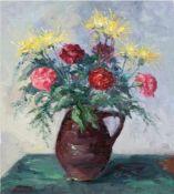 "Vogel, Willy (1910-1987) ""Blumen im Krug"", Öl/Lw., sign. u.l., 60x50 cm"