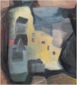 "Palinkas, Heiner (1913 Lehe-2004 Berlin) ""Häuseransicht"", Öl/Lw., unsigniert, rücks.WVZ-Nr. 28,"