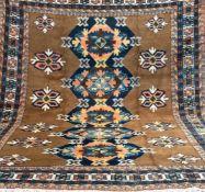 Sarab, Persien, mehrfarbig, mit durchgehendem Muster, Kanten belaufen, Florfehlstellen,Reinigung