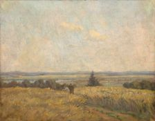 "Zeyer, Erich (1903 Stuttgart-1960 ebenda) ""Sommerspaziergang"", Öl/Lw., sign. u.l., 50x60 cm, Rahmen"