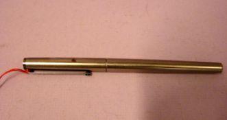 Mont Blanc Kugelschreiber, gemarkt: Germany (Funktion nicht geprüft)