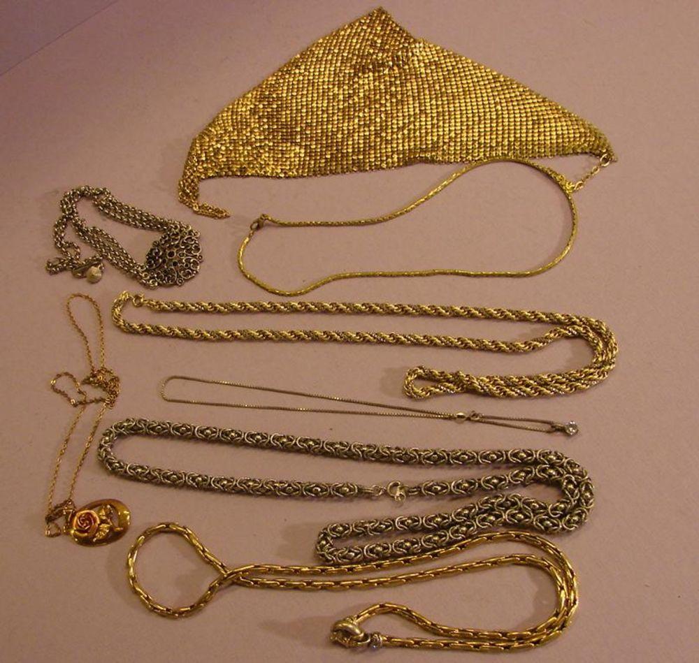 Konvolut Halsketten, Modeschmuck