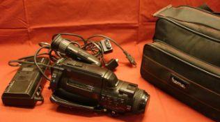 Camcorder, Sony, Video 8, mit Akku