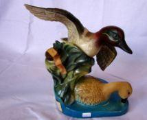 Jim Beam Whiskey, ungeöffnet, Ducks unlimited, 1981