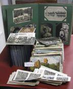 Konvolut alter Ansichtskarten, ca. 200 teilig.