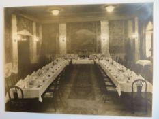 Almanach 1926 Württemberger Hof Nürnberg, hierbei 2 Menükarten und 9 Originalfotografien der