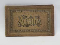 Poesiealbum, 19. Jahrhundert, 15 x 23 cm.