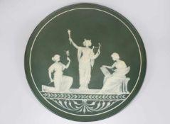 Phanolith, Wandteller von Villeroy&Boch/ Mettlach durch den Porzellankünstler Jean Baptiste Stahl (