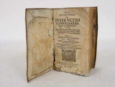 LLAMAS, HieronymusSumma ecclesiastica sive instructio confessariorum...Mainz 1605 (